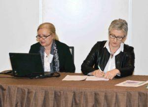 Dragica Kovčalija, načelnica Odsjeka za programe, stručni nadzor i usavršavanje, ASOO Dragana Štrkalj, voditeljica Odsjeka za programe, stručni nadzor i usavršavanje, ASOO