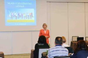 Anita Zovko, redovita profesorica na FFRi, odsjek za pedagogiju